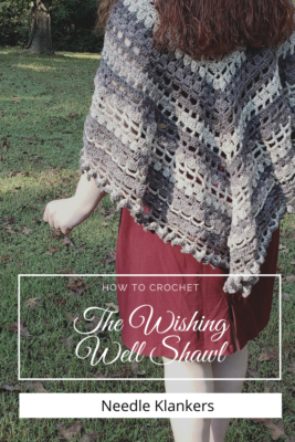 Wishing Well Shawl by NeedleKlankers
