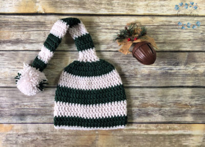 Long Tail Stocking Hat by crystal | ChristaCoDesign