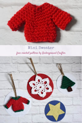 Mini Sweater by Marie/Underground Crafter