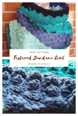 Textured Bandana Cowl by NeedleKlankers