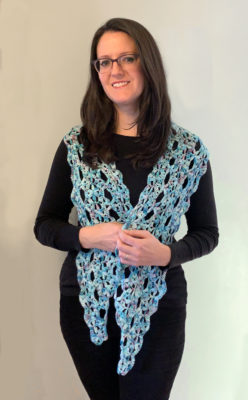 Waves of Wildflowers Scarf by Cathy Black from City Farmhouse Studio