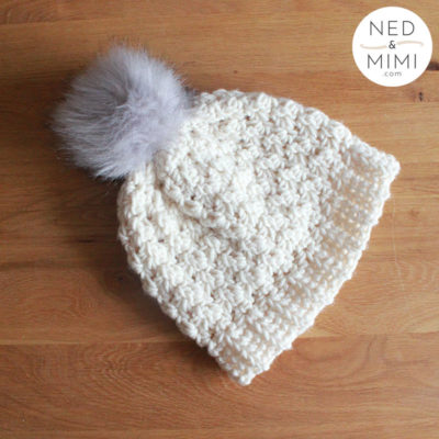 Chunky Hat by Sarah Ruane from Ned & Mimi