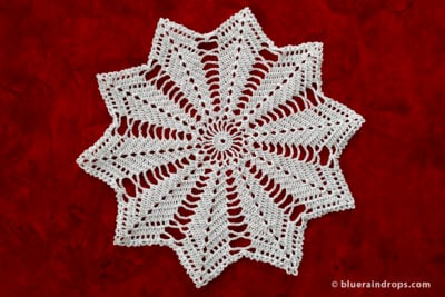 Star doily by blueraindrops