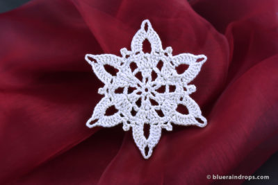 Snowflake Free Pattern by blueraindrops