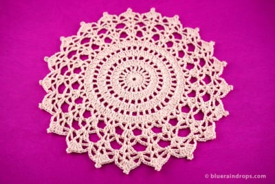 Crochet Cathedral Doily by blueraindrops