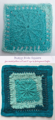 Bumpy Ride Square by Marie/Underground Crafter