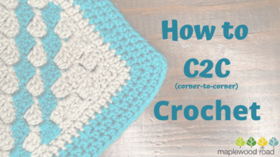 How to C2C Crochet by Viana Boenzli from maplewoodroad.com