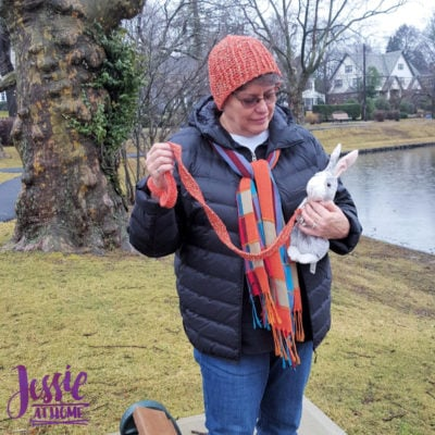Dog Walker Hat by Jessie Rayot from Jessie At Home