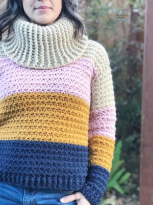 Sunset Sweater by ChristaCoDesign
