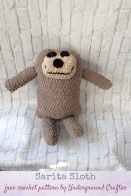 Sarita Sloth by Marie/Underground Crafter