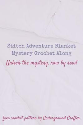 Stitch Adventure Blanket by Marie/Underground Crafter