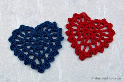 Lacy Heart Motif by blueraindrops