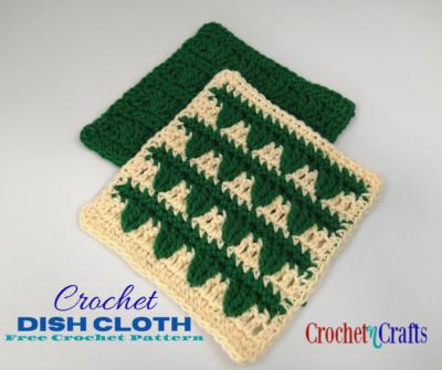 Crochet Dish Cloth by CrochetNCrafts