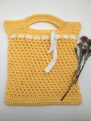 Sunday Market Bag by Through The Loop Yarn Craft