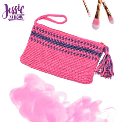 Pretty in Pink Clutch by Jessie Rayot from Jessie At Home