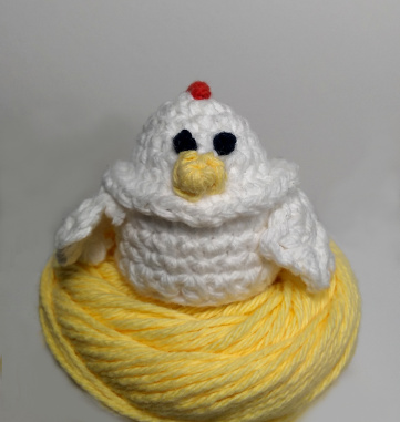 Charming Chicken Easter Egg Cozy by Sheep of Delight