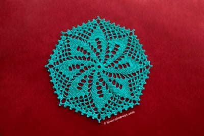Octagon Crochet Doily by blueraindrops