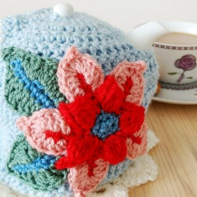 Summer Tea Cosy by Cat at Cloudberry Cat for Underground Crafter