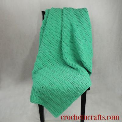 Bulky Triple Crochet Afghan Pattern by CrochetNCrafts