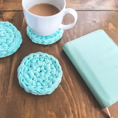 9 Minute Coaster by Sarah Ruane from Ned & Mimi