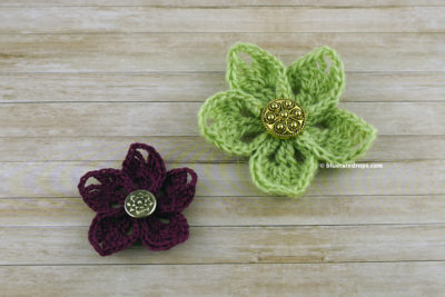 Easy Wildflower Pattern by blueraindrops