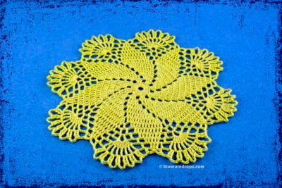 Andromeda Doily by blueraindrops