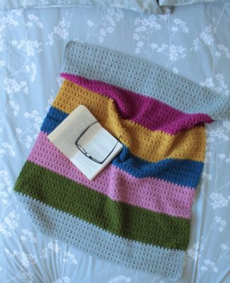 Crochet Cottage Blanket by Veronika Cromwell from Blue Star Crochet Company