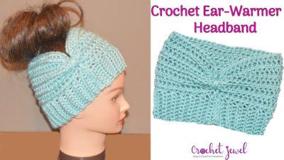 Head Warmer Headband by Amy Lehman from Crochet Jewel