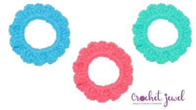 Crochet Ponytail Holder by Amy Lehman
