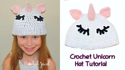 Unicorn Hat by Amy Lehman from Crochet Jewel