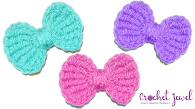 Bow by Amy Lehman from Crochet Jewel