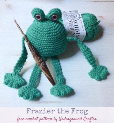 Frazier the Frog by Marie/Underground Crafter