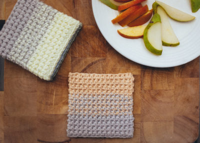 Ombre Coasters by Sarah Ruane from Ned & Mimi