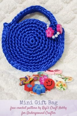 Mini Crochet Bag by rajiscrafthobby for Underground Crafter