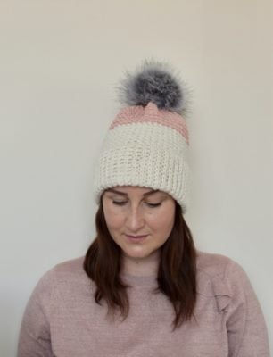 Napoly Hat and Single Crochet Bobble Stitch Tutorial by Veronika Cromwell