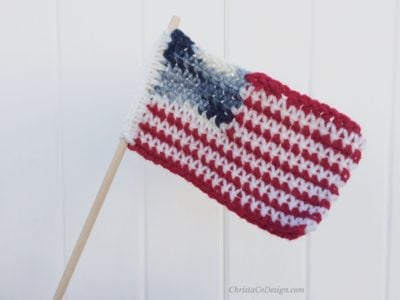 US Flag by ChristaCoDesign