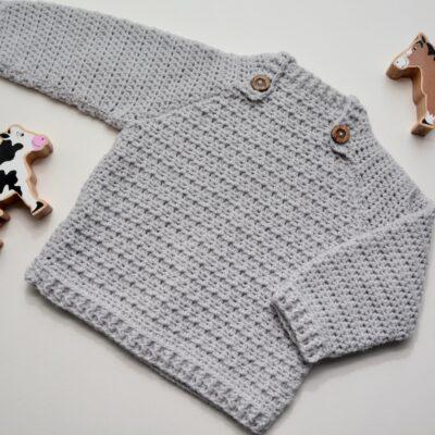 The Lazy Day Sweater by HanJan Crochet