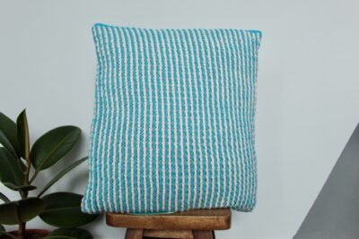 Pinstripes Cushion Cover by Veronika Cromwell