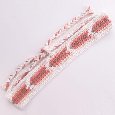 Boho Arrow Crochet Headband by Sarah Ruane