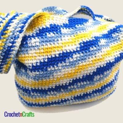 Single Crochet Bag by CrochetNCrafts