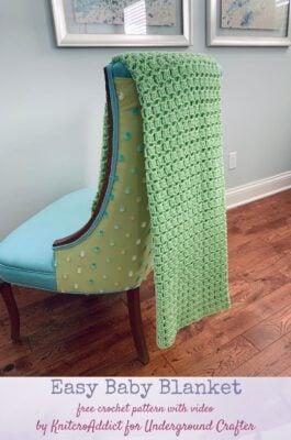 Easy Baby Blanket by Wan/Knitcroaddict