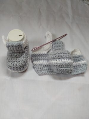 Baby Booties by Toyslab Creations