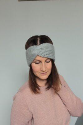Misty Ear Warmer by Veronika Cromwell from Blue Star Crochet.
