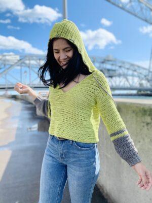 Crochet Hoodie by KnitcroAddict