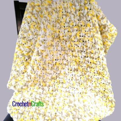 Bernat Baby Blanket Crochet Pattern by CrochetnCrafts