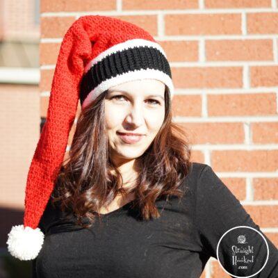 Secret Santa Hat by Straight Hooked.