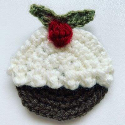 Christmas Pudding Appliqué by Memory Lane Crochet