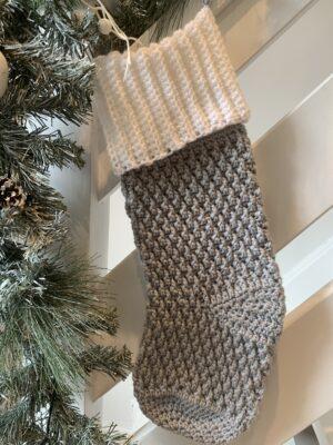 Alpine Christmas Stocking by Memory Lane Crochet