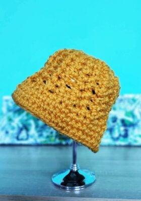 Crochet Chunky Bucket Hat by Beauty Crochet Pattern