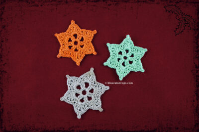 Mini Star Snowflakes by blueraindrops